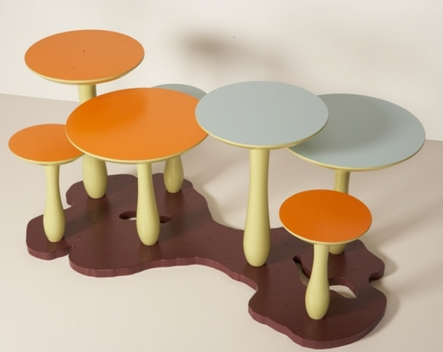 Thomas Wold Mushroom Forest Coffee Table